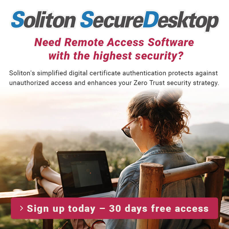 Need Remote Access Software with the highest security? Sign up today – 30 days free access