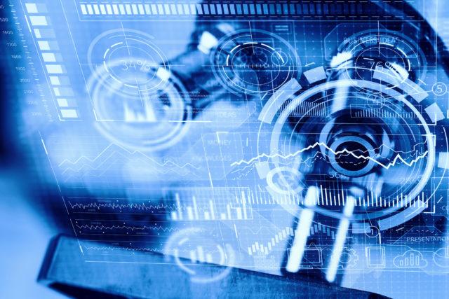 technology gizmos representing precision medicine powered by big data analytics