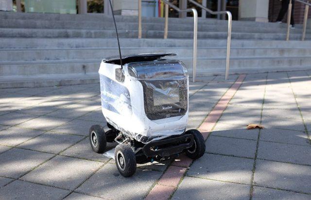 kiwibot is a semi autonmous robot